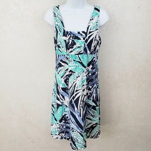 Tommy Bahama Leaf Print Casual Dress